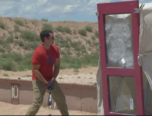 VIDEO: Can Soteria Destroy New Glass That Could Increase School Safety?